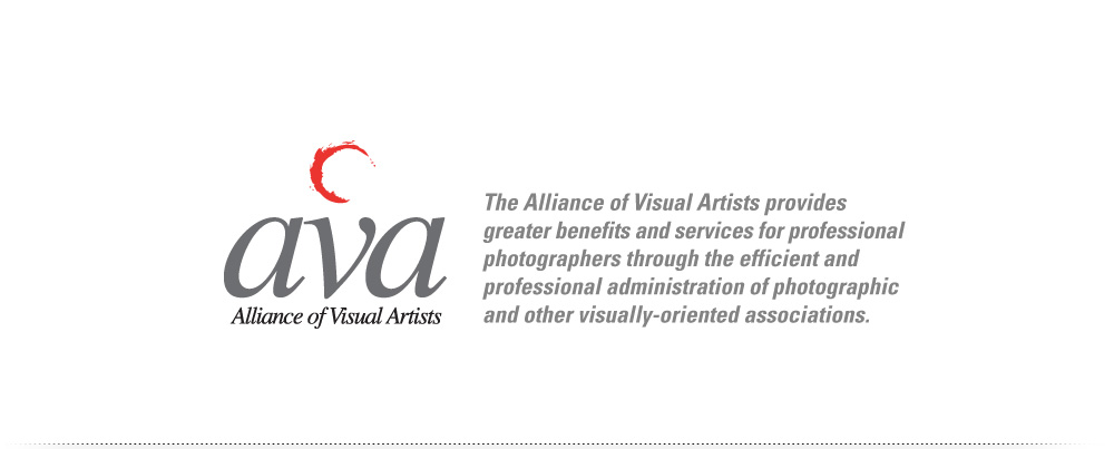 The Alliance of Visual Artists, AVA, provides greater benefits and services for professional photographers through the efficient and professional administration of photographic and other visually-oriented associations.